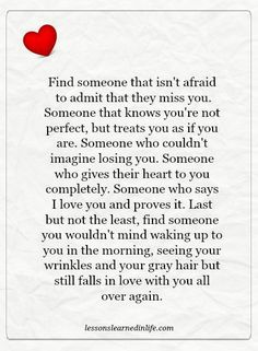 Lessons Learned in Life | Someone who gives their heart completely.