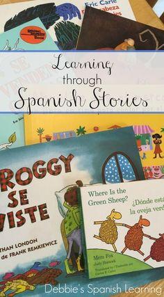 Using children's books in Spanish to teach kids vocabulary