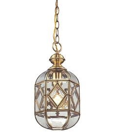 Brushed Brass Lavery Pendant #zulily #zulilyfinds