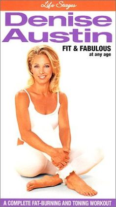"I'm so ""old school"", I use this 1999 workout video. It's simple enough that even I can do it! Denise Austin, Toning Workouts, I Can Do It, Workout Videos, Fat Burning, Burns, Lol, Fitness, Amazon"