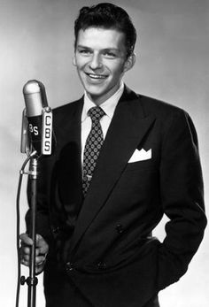 CBS Radio 1944 FRANK SINATRA MILTON BERLE Actor Singer Comedian VINTAGE AD