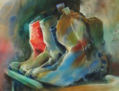 Watercolor Still Life Paintings - Jeanne Hyland, Artist & Instructor