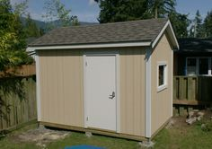 How to turn your Backyard Shed into a Backyard Studio or Office