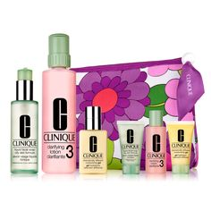 Clinique Great Skin Home and Away for Combination Oily to Oily Skins Set #VonMaur
