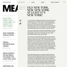 Fonts Used: Romana, Platform, and Arial • Typewolf Typography Inspiration