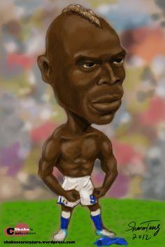 Mario Balotelli Caricature