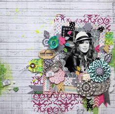 by Paula  c.        So very very in love with this layout!