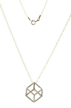 Minimal is elegant! A simple pendant with a geometric shape that will look perfect on you, whatever you wear! Jewelry Necklaces, Gold Necklace, Geometric Necklace, Geometric Shapes, Women's Accessories, Jewelry Collection, Minimal, Jewelry Design, Elegant
