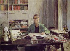 Les Nabis : Edouard Vuillard - Portrait de Jeanne Lanvin (1935)