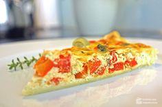 Paprika-Quiche mit Feta - Madame Cuisine