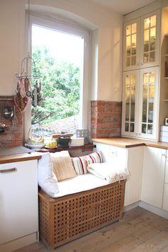 seidenfein 's Dekoblog: Ich bin soooooo glücklich ! Die neue alte weiße Küche No2 * I' m so lucky ! My new old white kitchen no 2