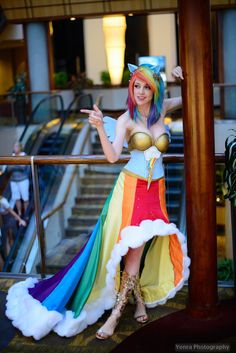 Rainbow Dash from My Little Pony This is the best Rainbow Dash costume I have seen lol