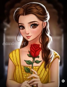42 New Ideas Wallpaper Cute Disney Princesses The Beast Anime Disney Princess, Disney Belle, Disney Princess Fashion, Film Disney, Disney Princess Drawings, Disney Princess Pictures, Disney Pictures, Disney Girls, Disney Kunst
