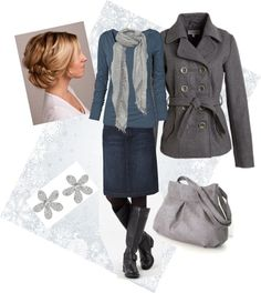 """Winter Winsomeness"" by daisyhedo ❤ liked on Polyvore"