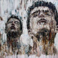 Carl Melegari Dritta , 2015  oil on canvas  91.4 x 91.4 cm