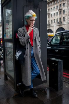 【スナップ】2016-17年秋冬ロンドン・メンズ・ファッション・ウイーク ストリートスナップ 8 / 140