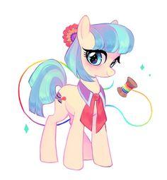Coco pommel and the rainbow ribbon
