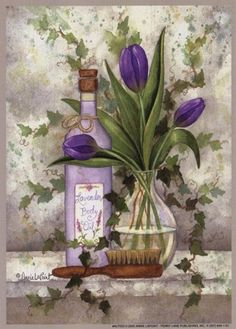 Lavender Body Oil by Annie Lapoint