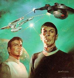 "Star Trek... Kirk and Spock cover of ""The Klingon Gambit"""