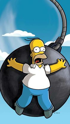 Homer The Simpsons Wallpaper In 2019 Homer Simpson intended for Los Simpson Wallpapers Homero - All Cartoon Wallpapers Simpsons Drawings, Simpsons Art, Cartoon Drawings, Simpsons Quotes, The Simpsons Wallpapers, Funny Wallpapers, Wallpapers Android, Wallpaper Wallpapers, Simpson Wallpaper Iphone