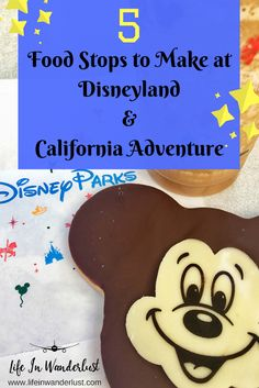5 Food Stops to Make at Disneyland & California Adventure