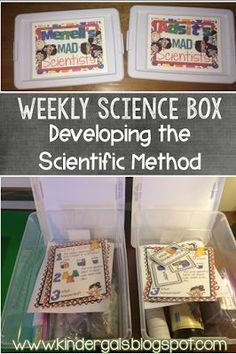KinderGals: Developing the Scientific Method with Weekly Science Box: Easy