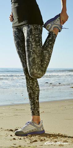 Do-anything leggings, great for running, strength training, or yoga. #PrepareForAdventure