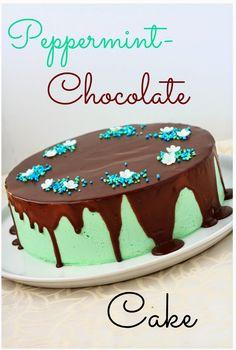 Suklaapossu: Piparminttu-suklaakakku (gluteeniton)