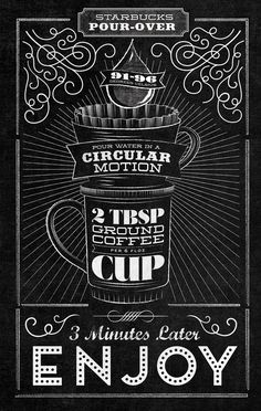 Starbucks - Home Brew by Jaymie McAmmond, via Behance