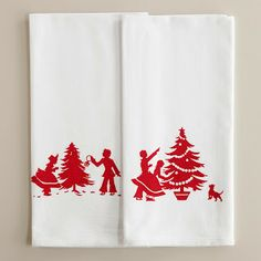 Christmas Napkins from Bit of Tea and Honey