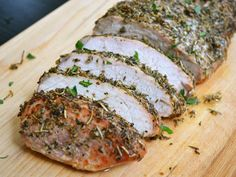 herb roasted pork loin - Love with recipe