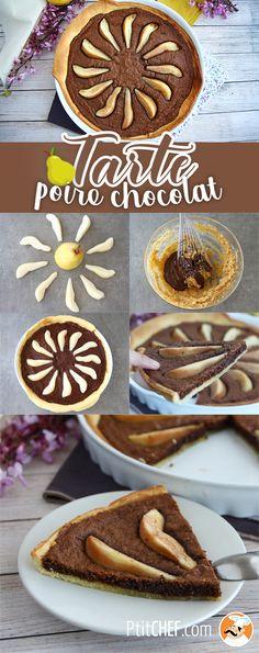 Tarte Chocolate e Pera Cheesecake, Croissant, Dessert Recipes, Ethnic Recipes, Biscuits, Sweets, Desert Recipes, Truffle Recipe, Resep Pastry