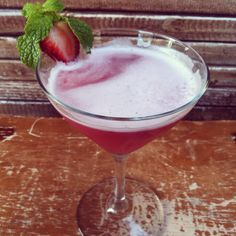 The Berry Ono made with Skyy raspberry and fresh berries.