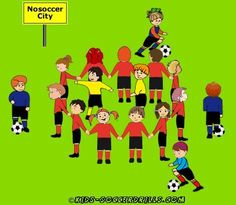 Dribbling - Nosoccer City - Kids Soccer - Soccer drills for kids from U5 to U10 - Soccer coaching with fantasy