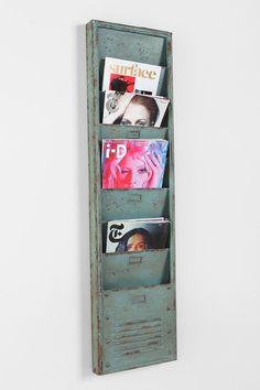 Industrial Magazine Rack