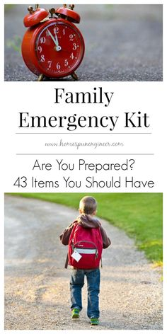 I wouldn't have thought of some of these items in my bug out bag! Great tips on survival emergency kit for family.