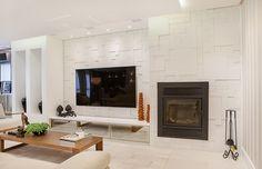 Os projetos assinados pelos profissionais de CasaPRO trazem vários tipos de lareiras e de décor