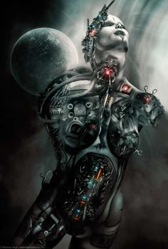 Menacing Mech Designs - Markus Vogt Renders Badass Looking Robots & Machines (GALLERY)