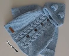 Giant baby hat with braided hair made a sweater. Baby Cardigan Knitting Pattern Free, Knit Vest, Baby Knitting Patterns, Baby Socks, Baby Hats, Hat Hairstyles, Braided Hairstyles, Knit Basket, Crochet Videos