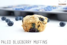 These scrumptious Paleo Blueberry Muffins are a fantastic, healthy addition to any breakfast table.