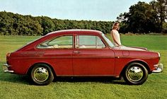1965' VW Variant Fastback 1600TL - a bit earlier than mine but about the same
