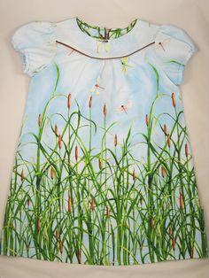 Schattige zomerse meisje jurk