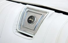 Chevrolet Super Sports rear seat speaker ... style, with functionality