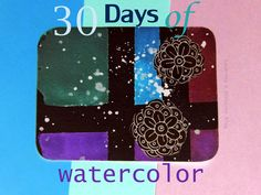 caterina e dintorni: 30 days of watercolor / seven
