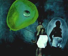 Martin Kippenberger  (1953-1997) -Self-Portrait in Underwear