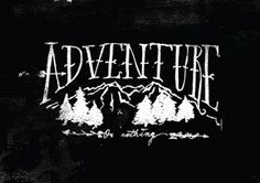 adventure or nothing. by Justyna Frąckiewicz, via Behance