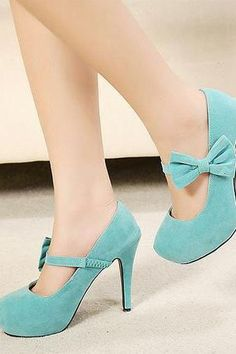c8c95eb0f18 Fashion Round Head With Bow Thin High Heels Shoes For Lady KMS25YR High Heel  Pumps