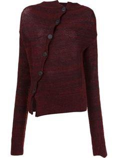 vivienne westwood asymmetric button cardigan