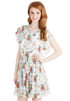 Place to Perch Dress   Mod Retro Vintage Dresses   ModCloth.com