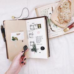 Eat, write, and be happy. #scrapbook #journal #journaling #travelersnotebook #travelersnote #sketchbook #scrapbooking #diornuit1947 #dior970 #手帳好朋友 #手帳 #文具 #文具控 #文房具 #紙膠帶 #貼紙 #印章 #pcnailedit #pchandsinframe
